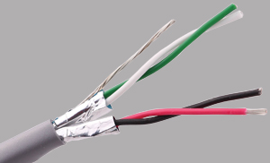 Multi-Conductor-Shielded Twisted Pair