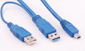 USB 3.0 Cable 2AM to 10PIN